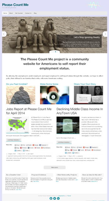 Please Count Me - Human Centered Community Project for Americans to Self Report Employment Status - Delightability