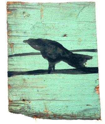 crow image painted on wood - The Experience Design BLUEPRINT - Delightability