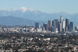 image of City of Los Angeles with small businesses of all types and sizes