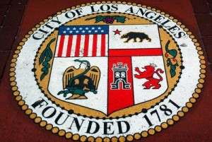 image of official seal of the city of Los Angeles
