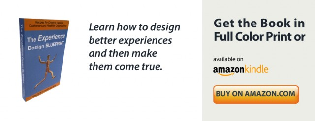 The Experience Design Blueprint book by Gregory Olson at Delightability