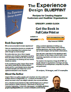 image of the experience design blueprint book summary for delightability website