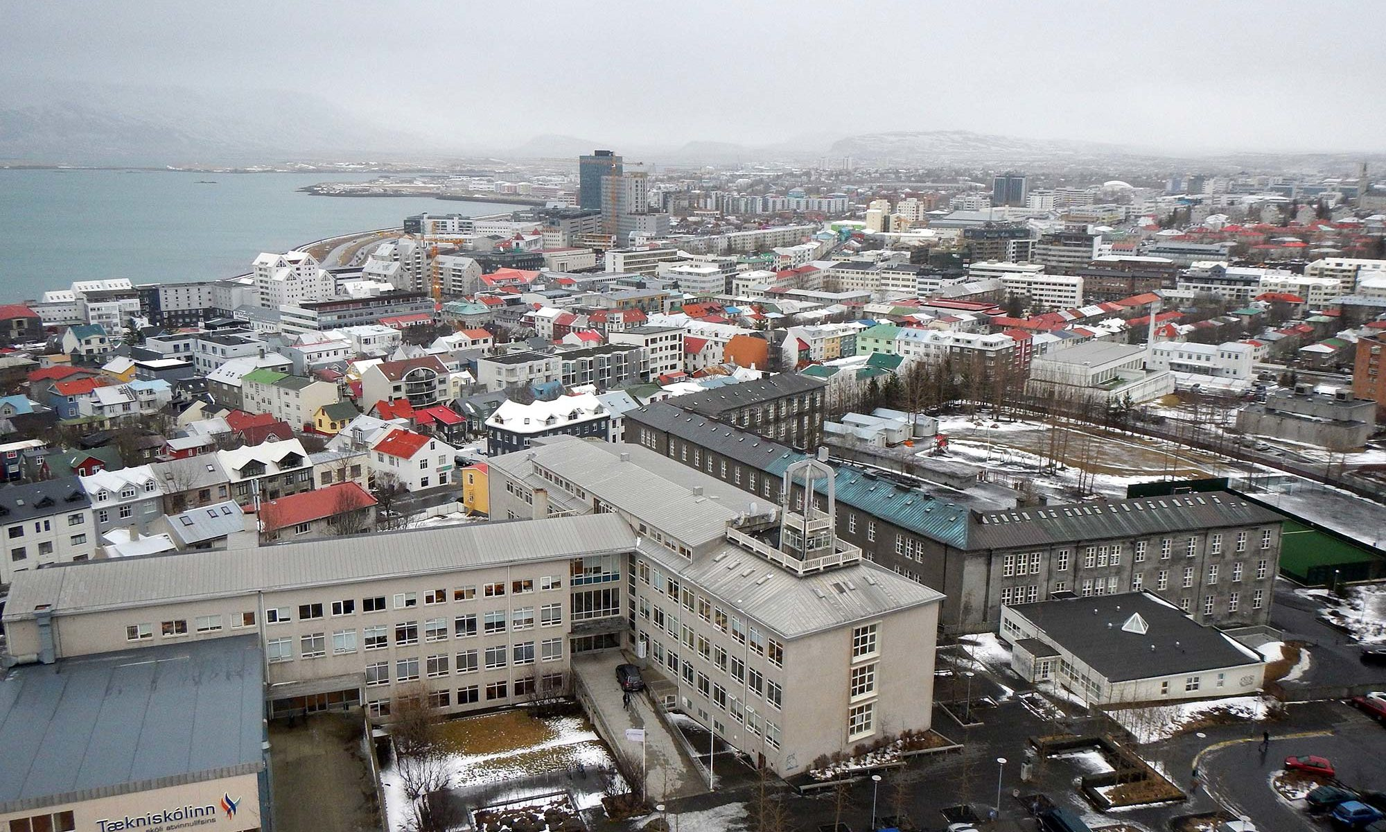 Image of Reykjavik from Hallgrimskirkja Church - Delightability