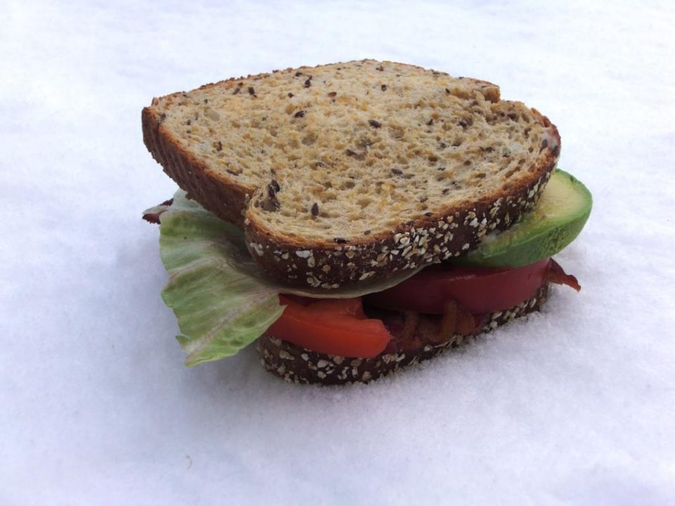 image of sandwich for blog post about biases - delightability - the experience design blueprint