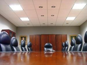 board room image - Robots Don't Kill Jobs But CEOs Do - Delightability blog