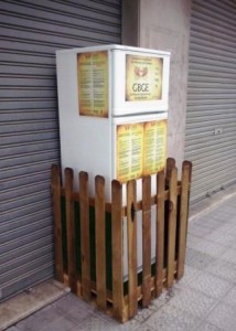 solidarity fridge in spain - food sharing apps - delightability - gregory olson