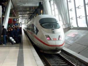 high speed train in germany - gregory olson - delightability