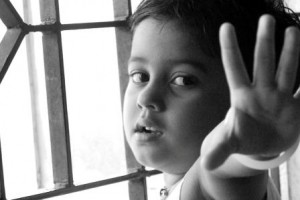 image of child reaching for help - delightability blog