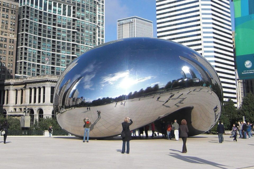 image of Truth Sculpture Chicago Millenium Park - Delightability - Gregory Olson