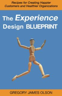 Cover Art for The Experience Design Blueprint from Gregory James Olson - Delightability LLC