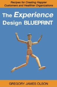 image of cover for The Experience Design Blueprint by Gregory Olson